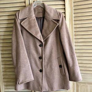 Calvin Klein pea coat size 14